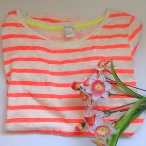 FOREVER 21  Striped T Shirt Size Small